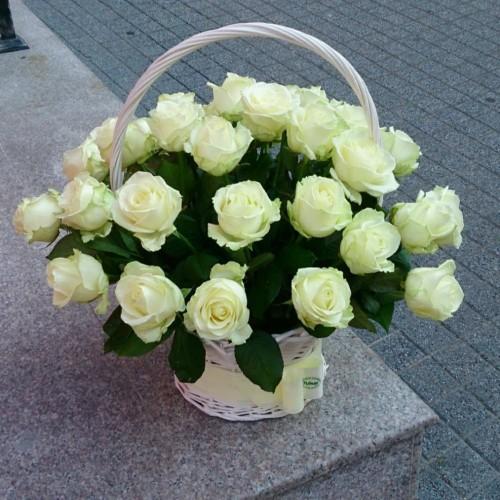 Кошница с цветя 2